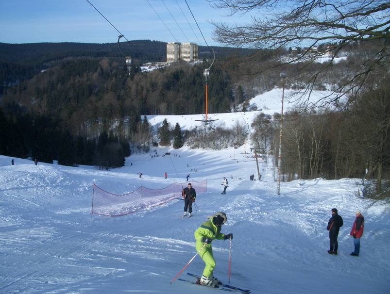 Skicentrum am Brande in Hohegeiß