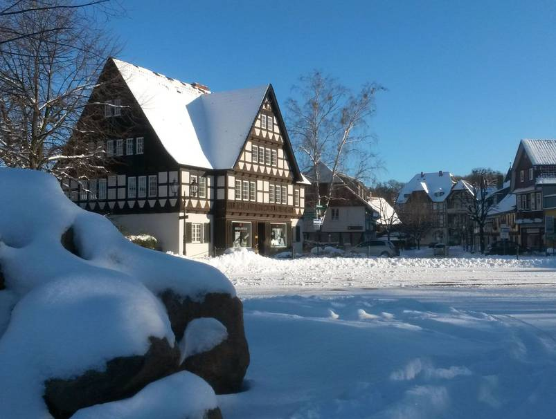 Winter in Ilsenburg