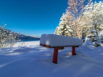 Schneehöhe torfhaus